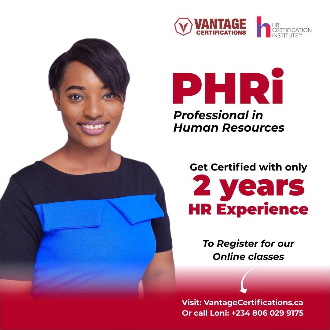 PHRI Certification